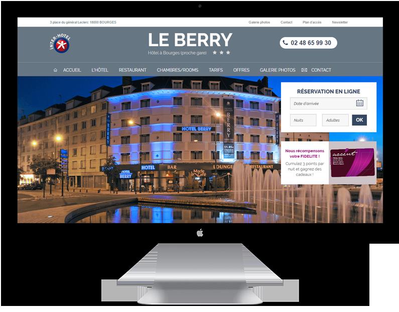 Hôtel LE BERRY Bourges