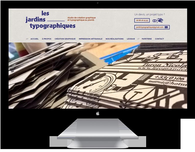 Jardins typographiques