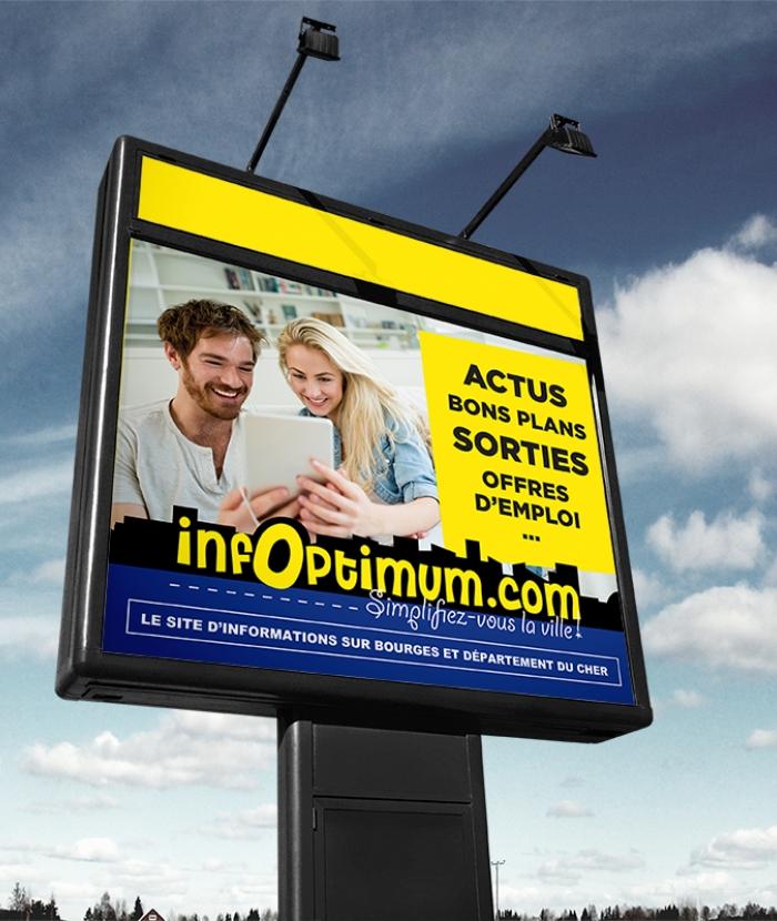 Infoptimum - affichage